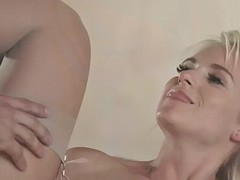 italian pawg rossella visconti gets serviced by big cock in both holes