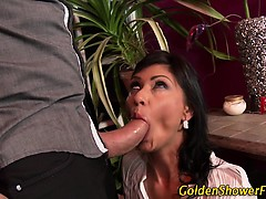 Stockings ho pee drenched