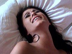 18, お尻, ベッドルーム, カップル, 彼女, ハードコア, オマンコ, 現実