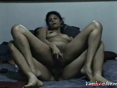 hairy mexican woman anal cock ride on cam