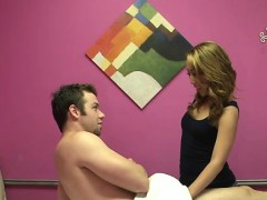 Clients gets a sexy massage definitely worth paying for