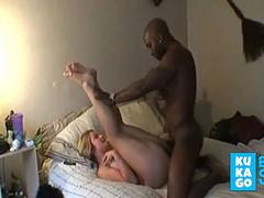 hot curvy wife her first time with a BBC