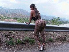 Huge Colombian ass