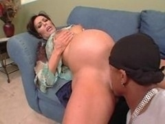 Nancy Vee - pregnant interracial rectal