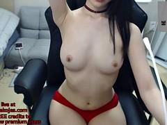 korean horny camgirl sexy show