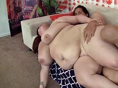 Redhead plumper Eliza Allure hardcore anal sex