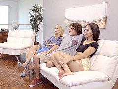 Amerikaans, Vriendje, Moeder, Stiefmoeder, Trio