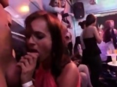 Hot teenies get entirely insane and naked at hardcore party