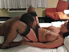 Beautiful hotwife fucks BBC