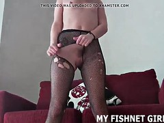 fishnet stockings make me feel like such a sexy slut joi