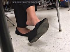 Ebony Teacher Shoeplay