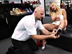 Blonde, Pieds, Fétiche, Exhib, Fétiche des pieds, Chaussures, Softcore