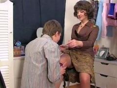 Mom caught sons masturbatsyey her panties
