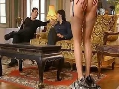 Hot Mom does her son and familiar for enjoyment