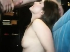 Amateur partner requires cosmetic and a difficult facefuck