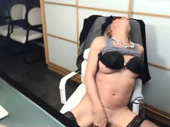 Crazy Mature Amateur on Webcam