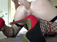 Show webcam with dildo crossdressing bam