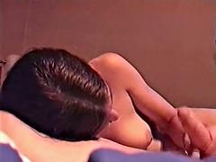 Sunny gives boyfriend a very big cumshot