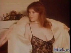 Look at the splendid bra buddies on this hot little redhead who strips out of her lace teddy and additionally gets those puffy nipples sucked on by he