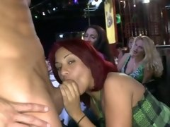 Hotties at the party suck stranger dick and love being so dirty