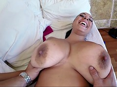 anastasia lux's melons bounces non-stop as she takes his dong