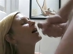 Newbie BJ and Cumshot Compilation