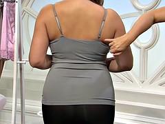 softcore bra panty leggings thick model