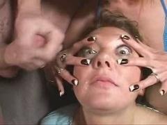 British Bitch Jenny Loveitt Wants Cum On Her Eyeball