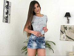 Long legged Spanish girl Lorena Garcia