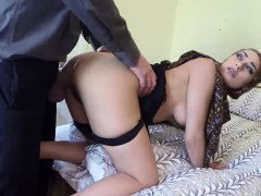 Stunning Arab babe pounded hard in her pussy