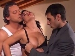 One and only Italian Gangbang With Bigtitted Lush Lady Going Crazy Over Th