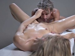 deep erotic massage for the pale gentle alecia