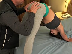 Sara Luvv Gets Pounded and Her Husband Eats Thick