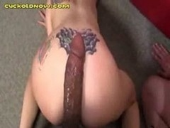 White Cuckold Can Only Kiss His Wife