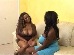 Ms. Panther - Black Girl-girl Scene.