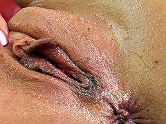 Brigitte solo masturbating at home from Give Me Pink