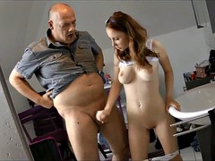 young redhair fucked by dad best friend