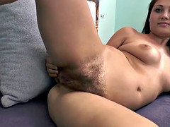 Angelica Snow takes off clothes after reading