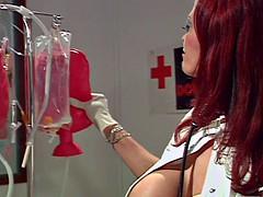 Busty Nurse Donita Dunes Check Out Tanya Daniele