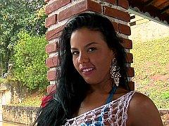 Nana, Bikini, Brésilienne, Fille latino, Chatte, Adolescente