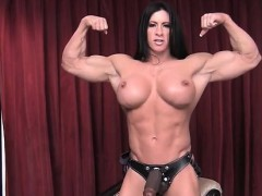 FemaleBodybuilder Angela Salvagno Loves Having A Cock