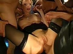 Anaal, Groepseks ejactulatie, Duits