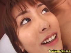 Innocent japanese teen gets fucked hard