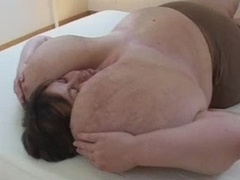 She Loves Her Sizeable Plump Boobs