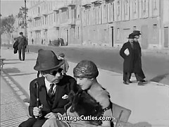 old man fucks hot girls in the 1920s the city (1920 harvest)