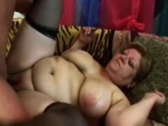 Bbw granny Venuse gets cunt stuffed by schlong