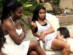 Black Girls love White Slaves