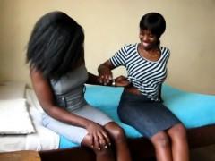 Anula Yehibe pegging her girlfriend