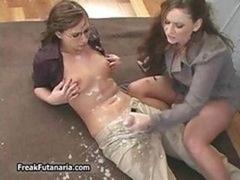 Horny Teacher Jerking Her Lady Part1