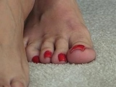 Female with Cute Toes
